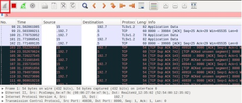 Packets analysis with wireshark | julienprog
